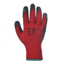 Gants de manutention, enduits latex