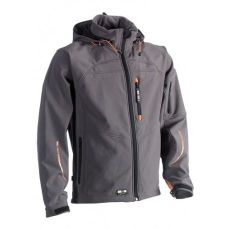 Veste softshell déperlante multipoches