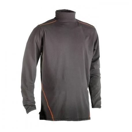 Tee-shirt ou sous-pull col roulé manches longues