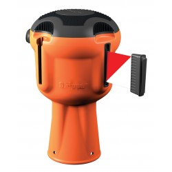 Enrouleur de ruban de signalisation Skipper™ Orange