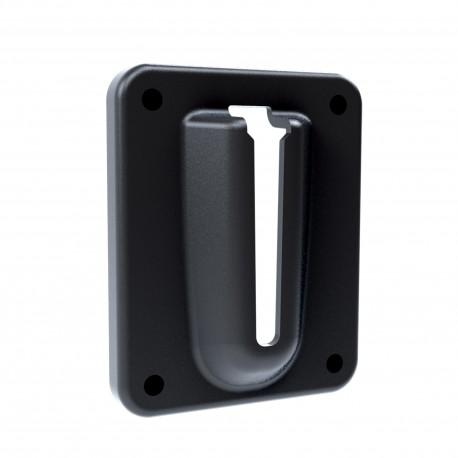 Support magnétique pour extrémité d'enrouleur de ruban de signalisation