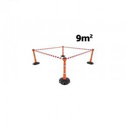Kit de signalisation extérieur 9 m² de surface - SKIPPER™