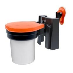 Support poubelle ou distributeur pour ventouse SKIPPER