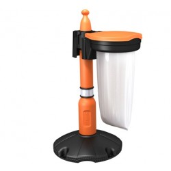 Kit poubelle avec poteau - SKIPPER™