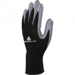 Gant tricot polyester paume enduit nitrile - VE712GR - DELTAPLUS