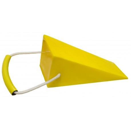Bloc de calage triangulaire 400 x 120 x 130 mm