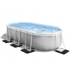 Cale pour pied de piscine tubulaire hors sol