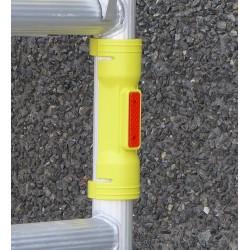 Manchon de signalisation pour tube échafaudage