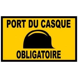 25 Panneaux Port du casque obligatoire