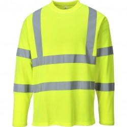 T-Shirt Hi-Vis - haute visibilité - coloris jaune