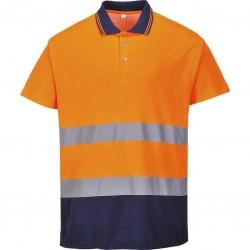 Polo haute visibilité - Bicolore