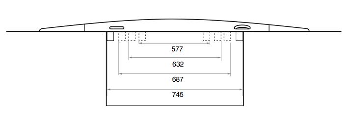 Schema plaque de chaussée