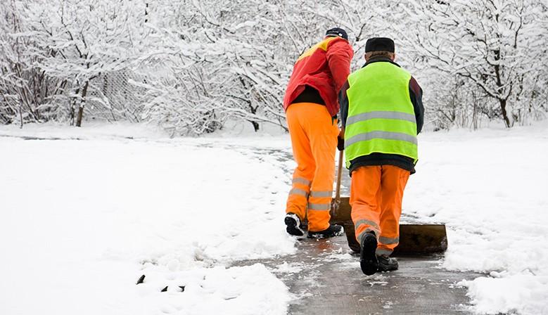 Vêtements de travail chauds pour l'hiver