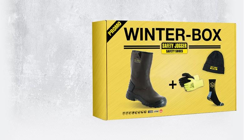 Bottes de travail en cuir, S3, gants de travail thermiques, paire de chaussettes chaudes, bonnet.